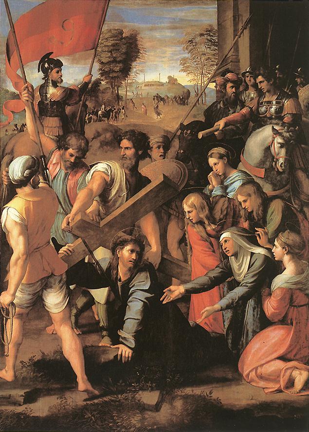 Рафаэль Санти. Иисус