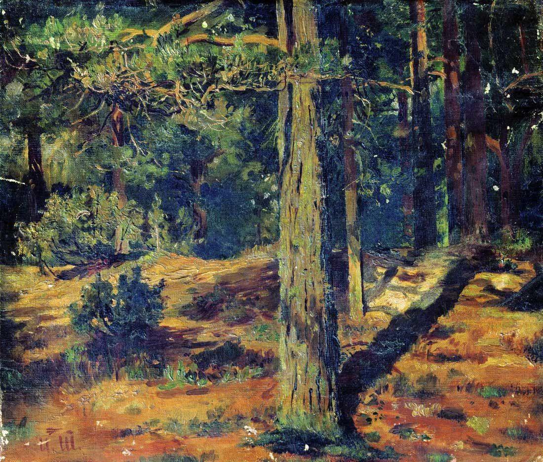 Ivan Shishkin. Summer landscape