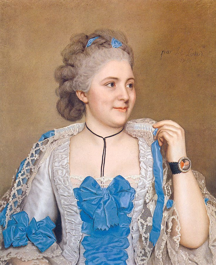 Jean-Etienne Liotard. Woman