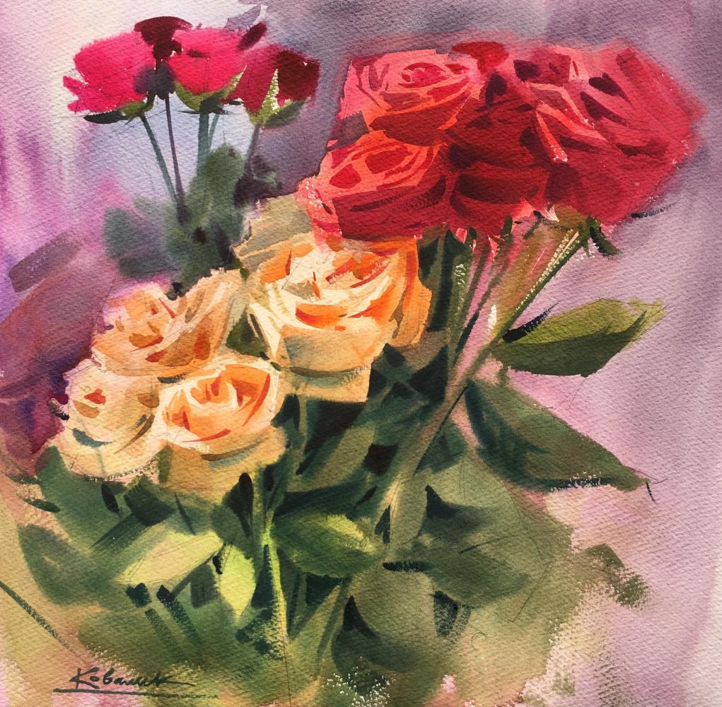 Andrew. Roses