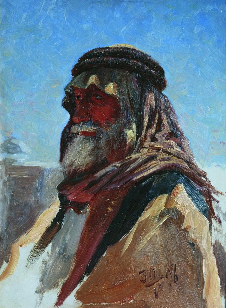 Nikolay Aleksandrovich Yaroshenko. Bedouin. 1896 Sketch.