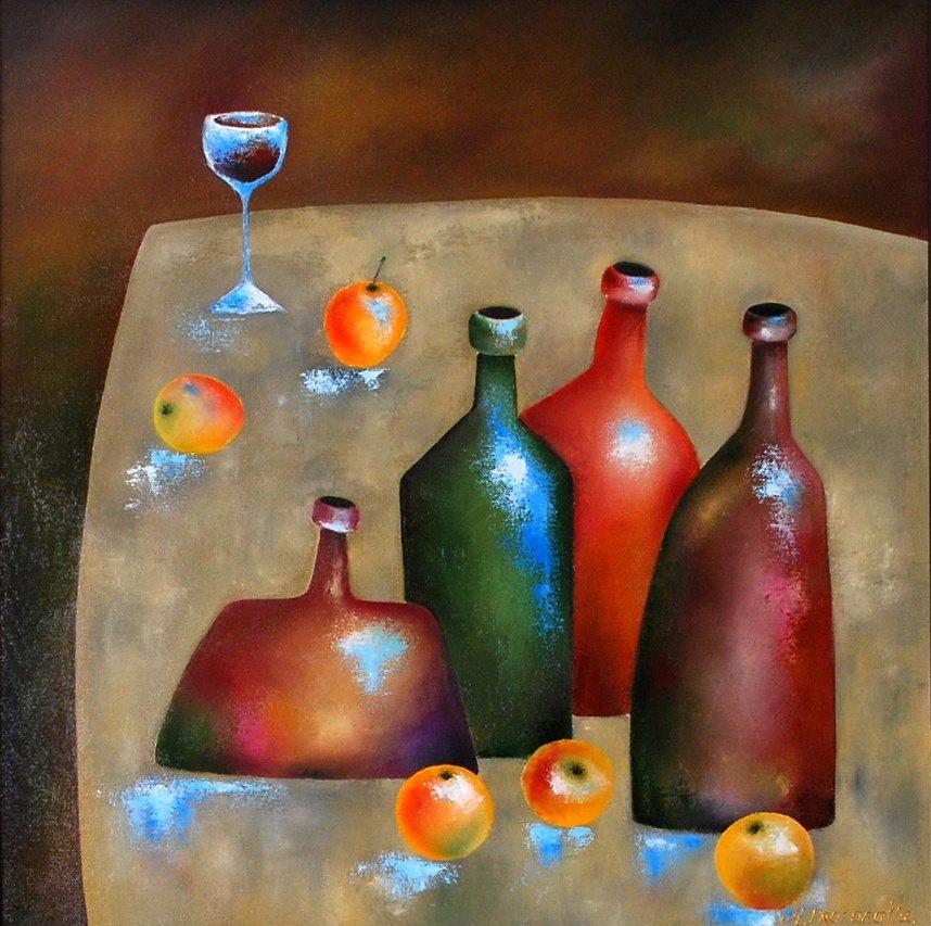 Margarita Eduardovna Prozorova. Still life with apples