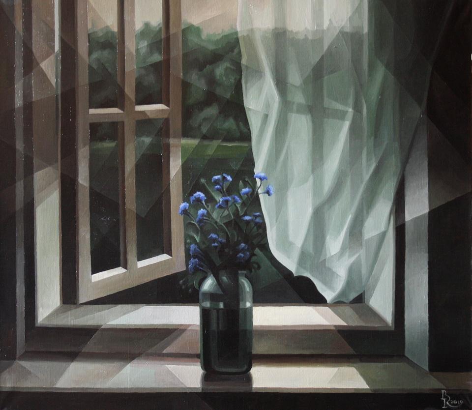 Vasily Krotkov. White Night. Post-cubutourism