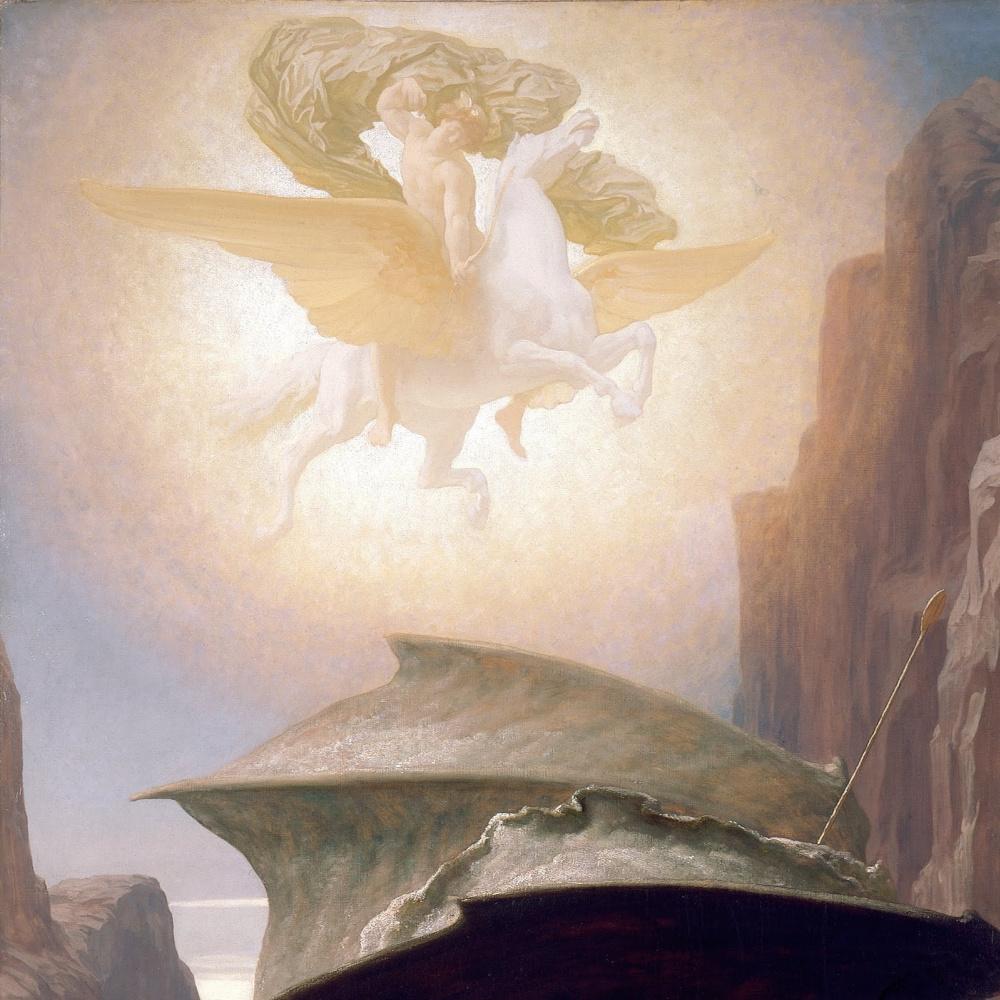 Сэр Фредерик Лейтон. Персей и Андромеда (фрагмент)