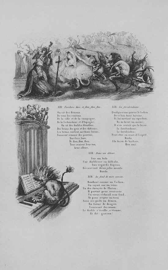 Шарль-Франсуа Добиньи. Искушение святого Антония, вторая виньетка
