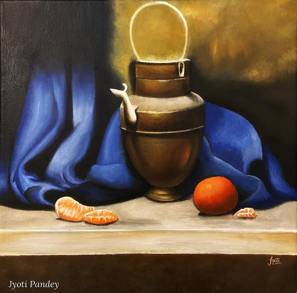 Jyoti Pandey. Initial art collection