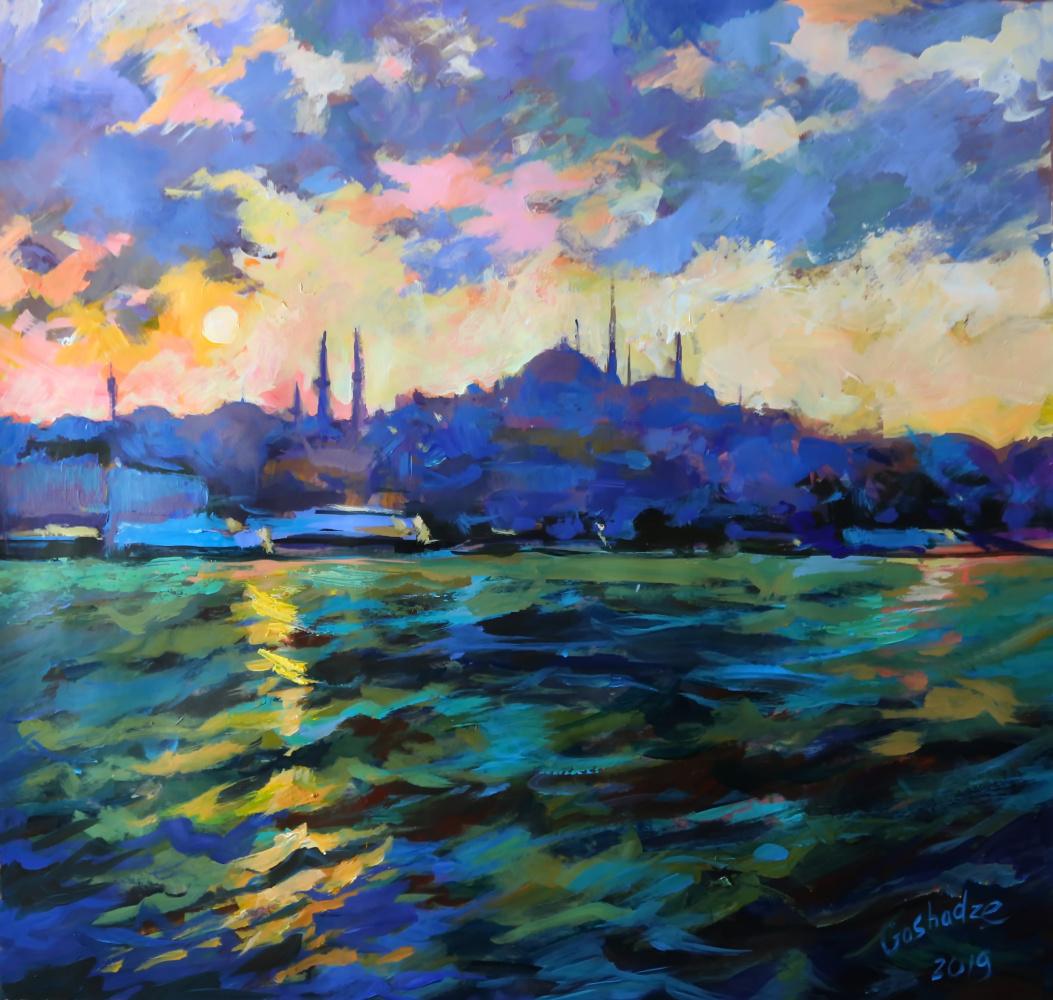 Yunona Goshadze. Farewell to Istanbul