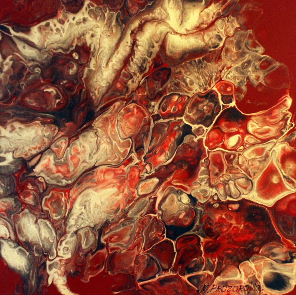 Margarita Eduardovna Prozorova. Red abstraction