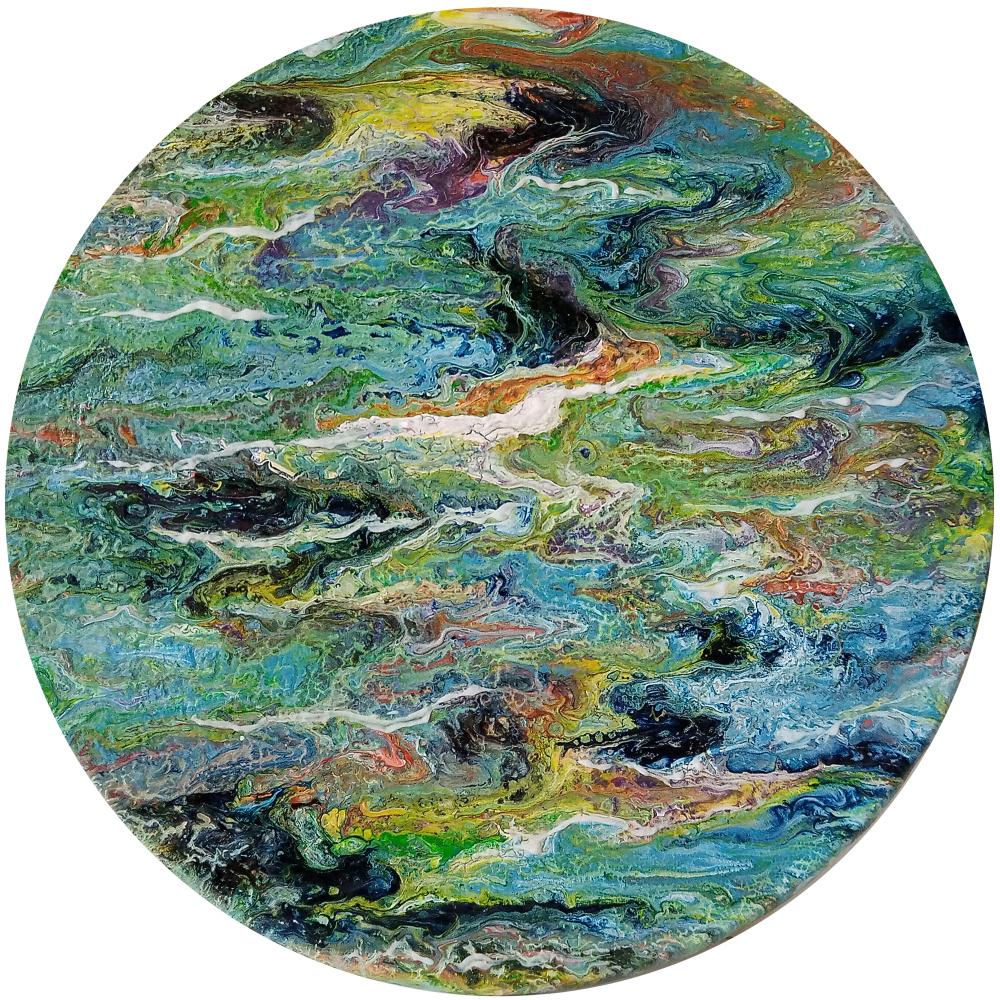 Vasiliy Mishchenko. Abstract 0129 Acrylic d22 pvc 5
