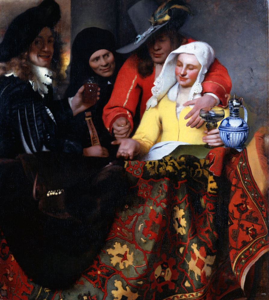 Jan Vermeer. The Procuress