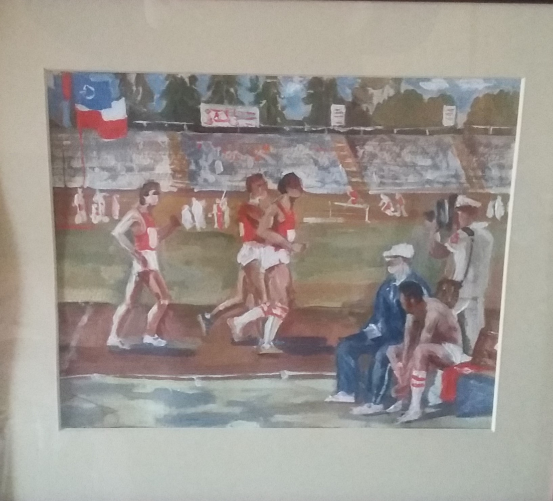 Unknown artist. Athletics Competitions.