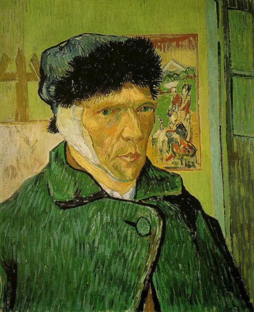 Винсент Ван Гог. Автопортрет с отрезанным ухом
