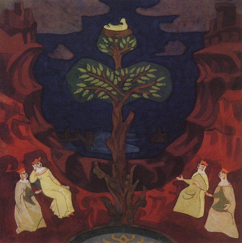 Nicholas Roerich. Socket preblagaja - eyes of solace