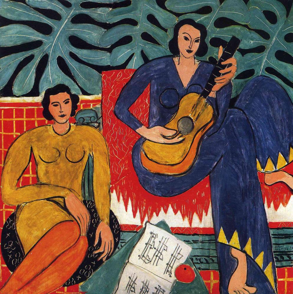 Картинки по запросу Анри Матисс «Музыка»