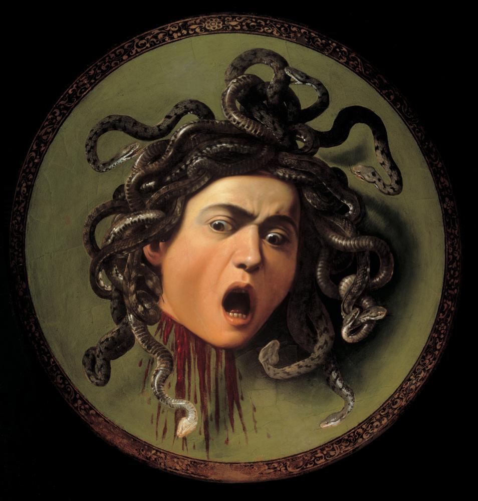 Микеланджело Меризи де Караваджо. Медуза