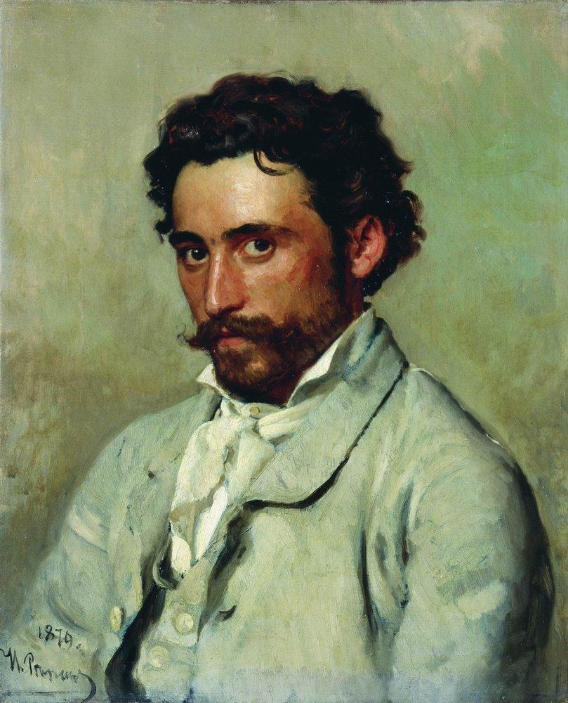 Ilya Efimovich Repin. Portrait Of Yurkevich