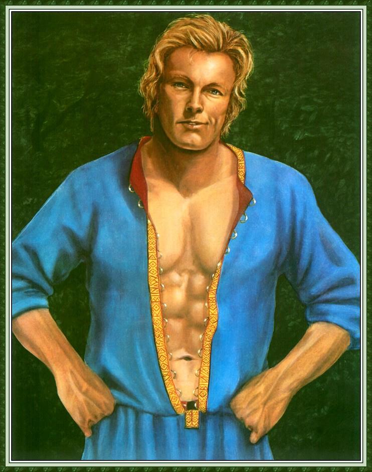 Робин Вуд. Мужчина в синем