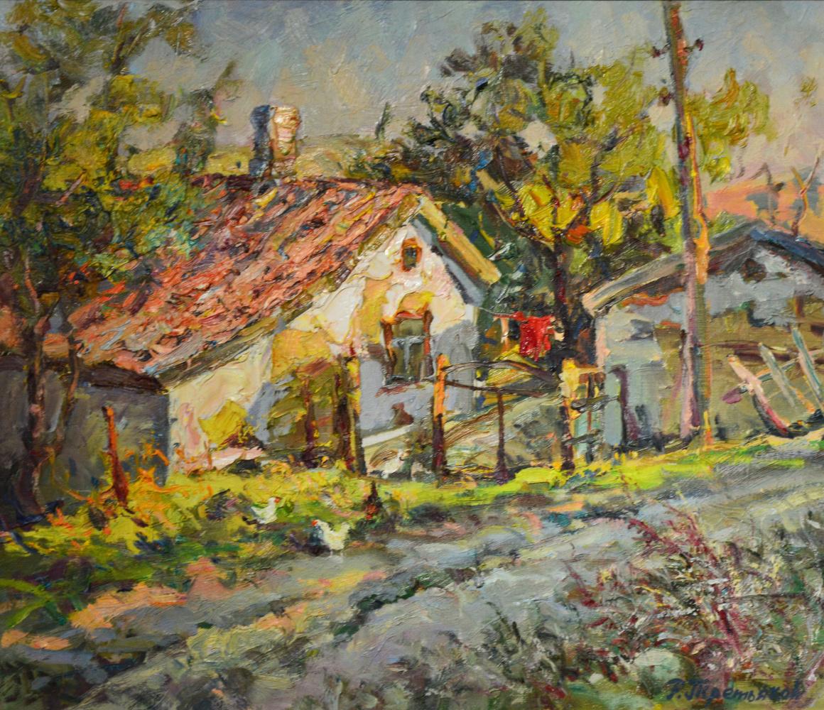 Roman Tretyakov. Evening in sun valley.