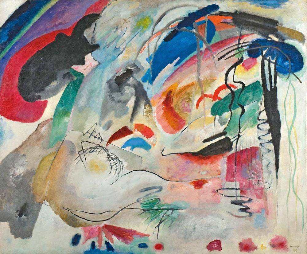 Wassily Kandinsky. Improvisation