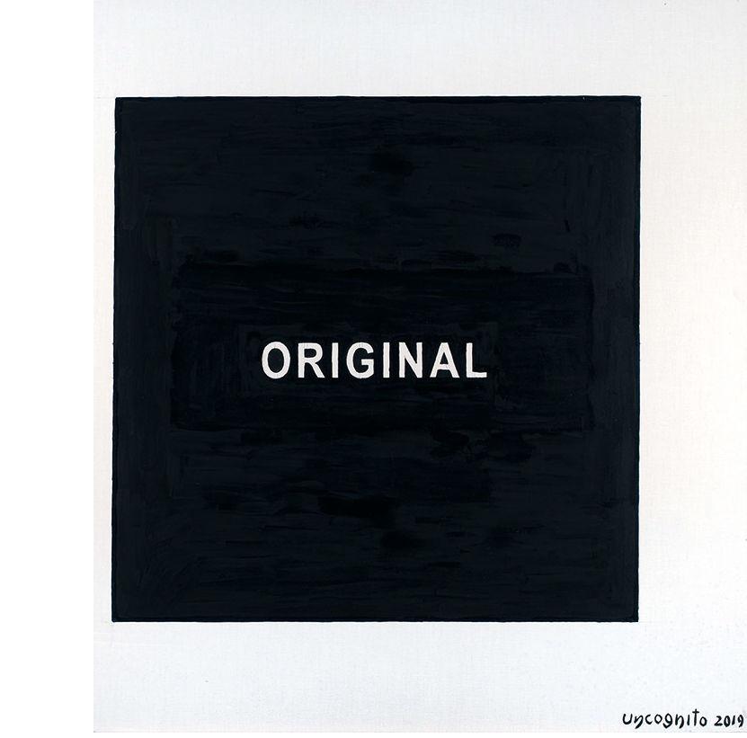 Uncognito Uncognito. Square - the original and fake