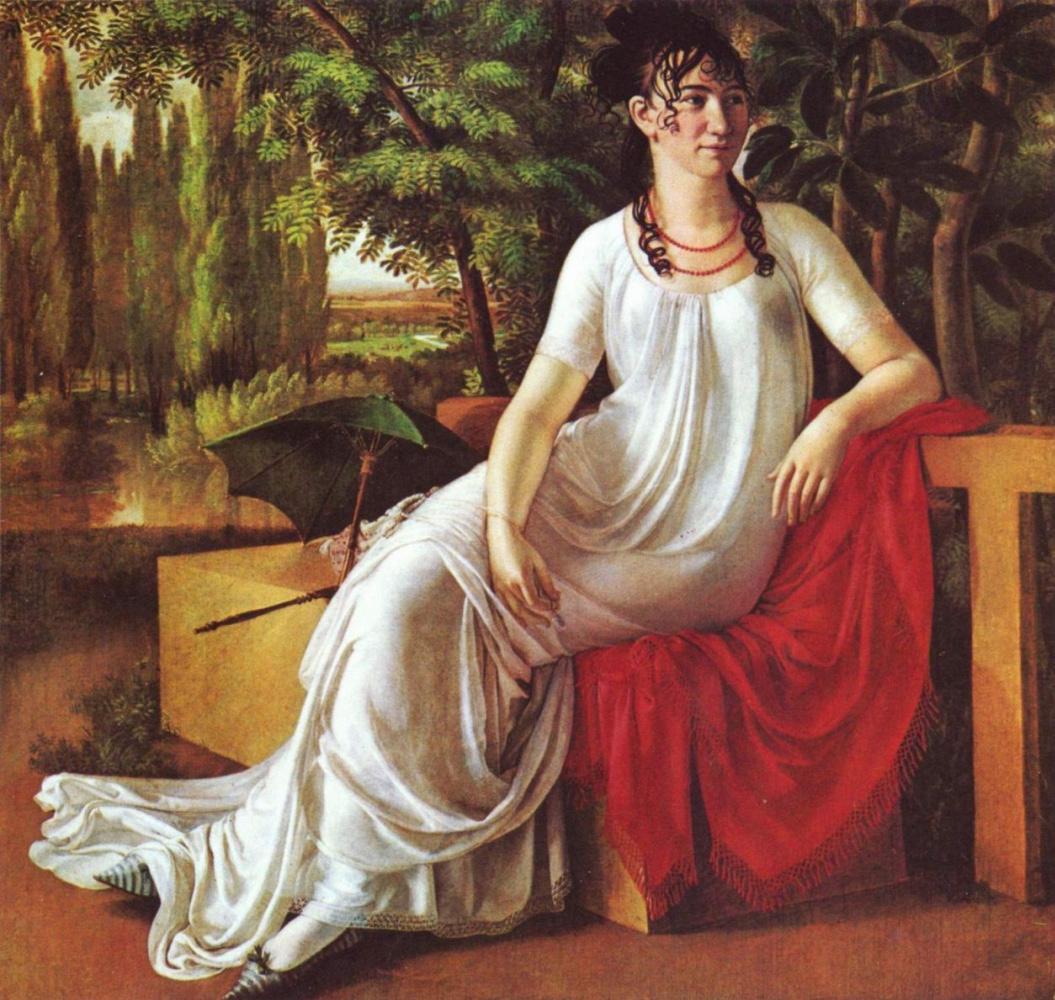 Христиан Готлиб Шик. Портрет госпожи фон Котта