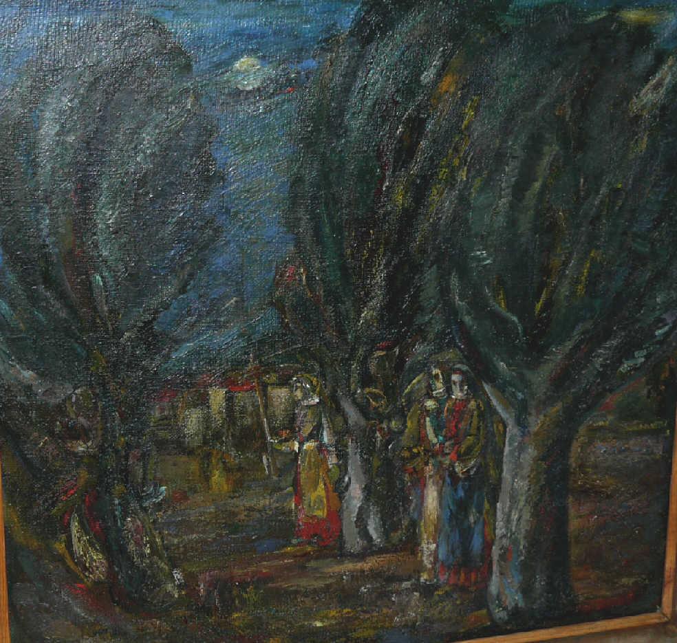 "Albert Armenakovich Balayan. ""The evening"""
