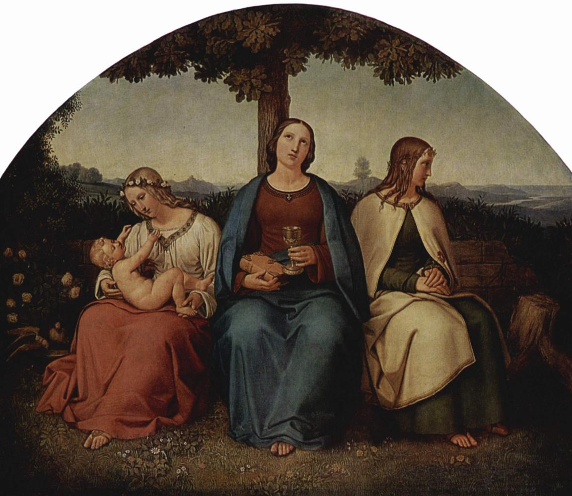 Henry Maria von Hess. Faith, hope, love