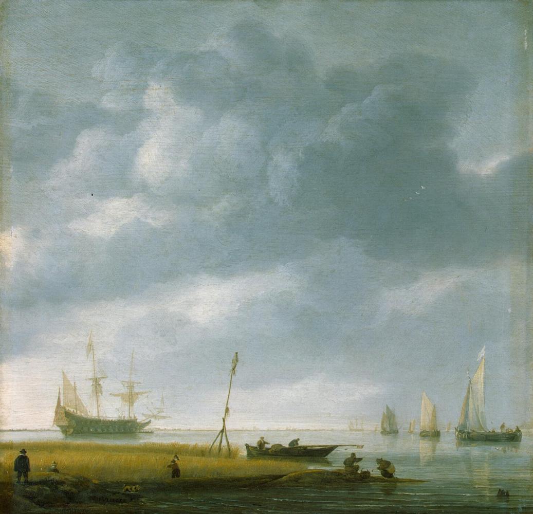 Симон де Влигер. Морской берег