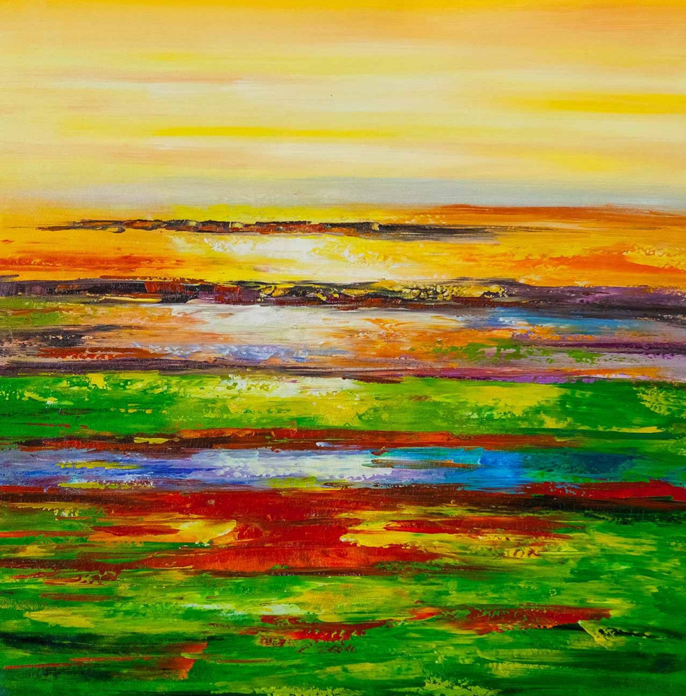 (no name). Kaleidoscope of the Mediterranean. Sunset