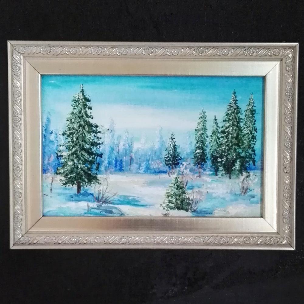 Alina Evgenievna Shvareva (Galkina). Winter forest
