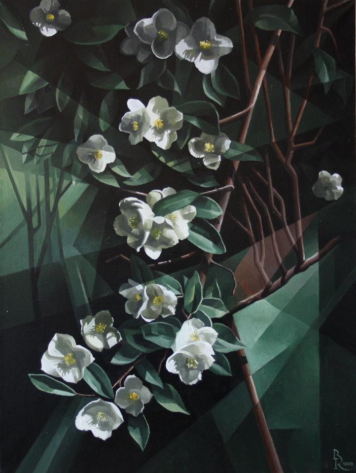 Vasily Krotkov. Jasmine. Post-cubutourism