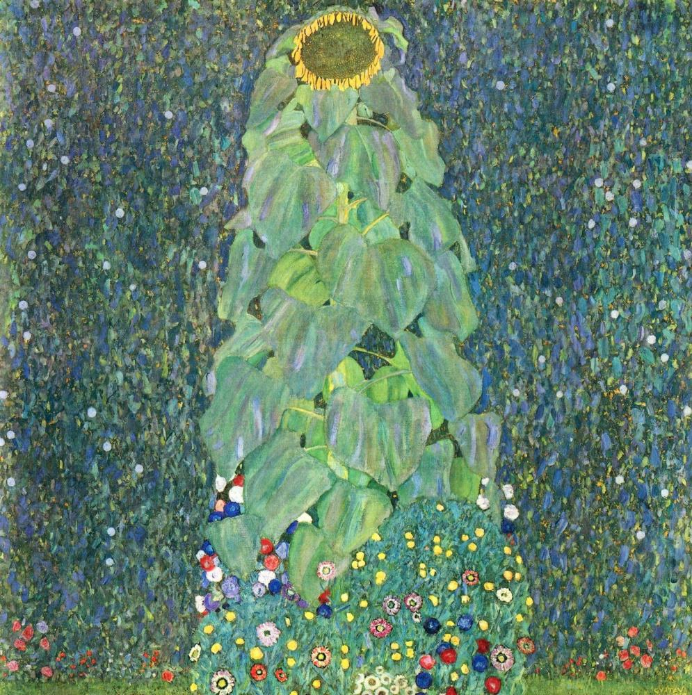 Gustav Klimt. Sunflower