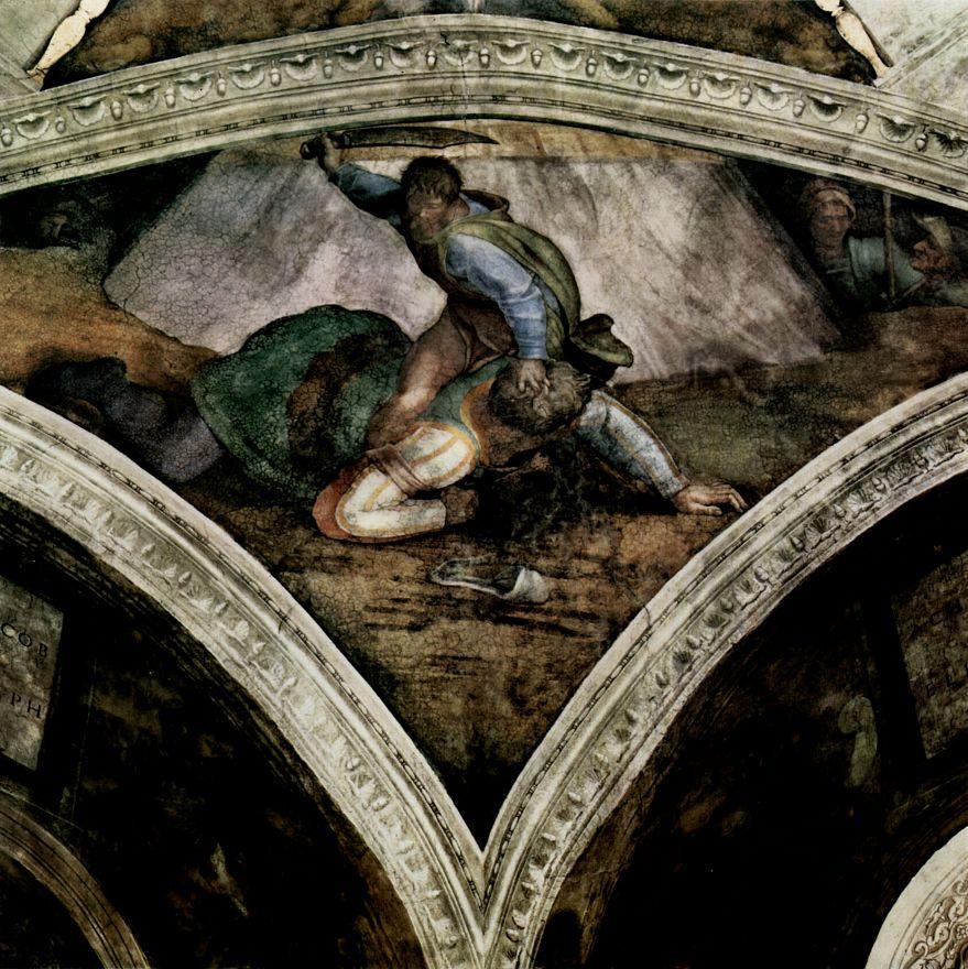 Микеланджело Буонарроти. Давид и Голиаф