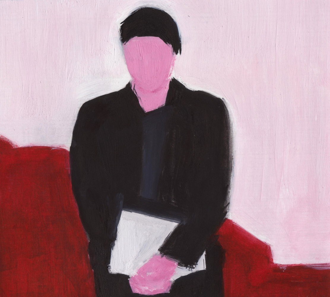 Nickie Zimov. Self-Portrait In Tuxedo
