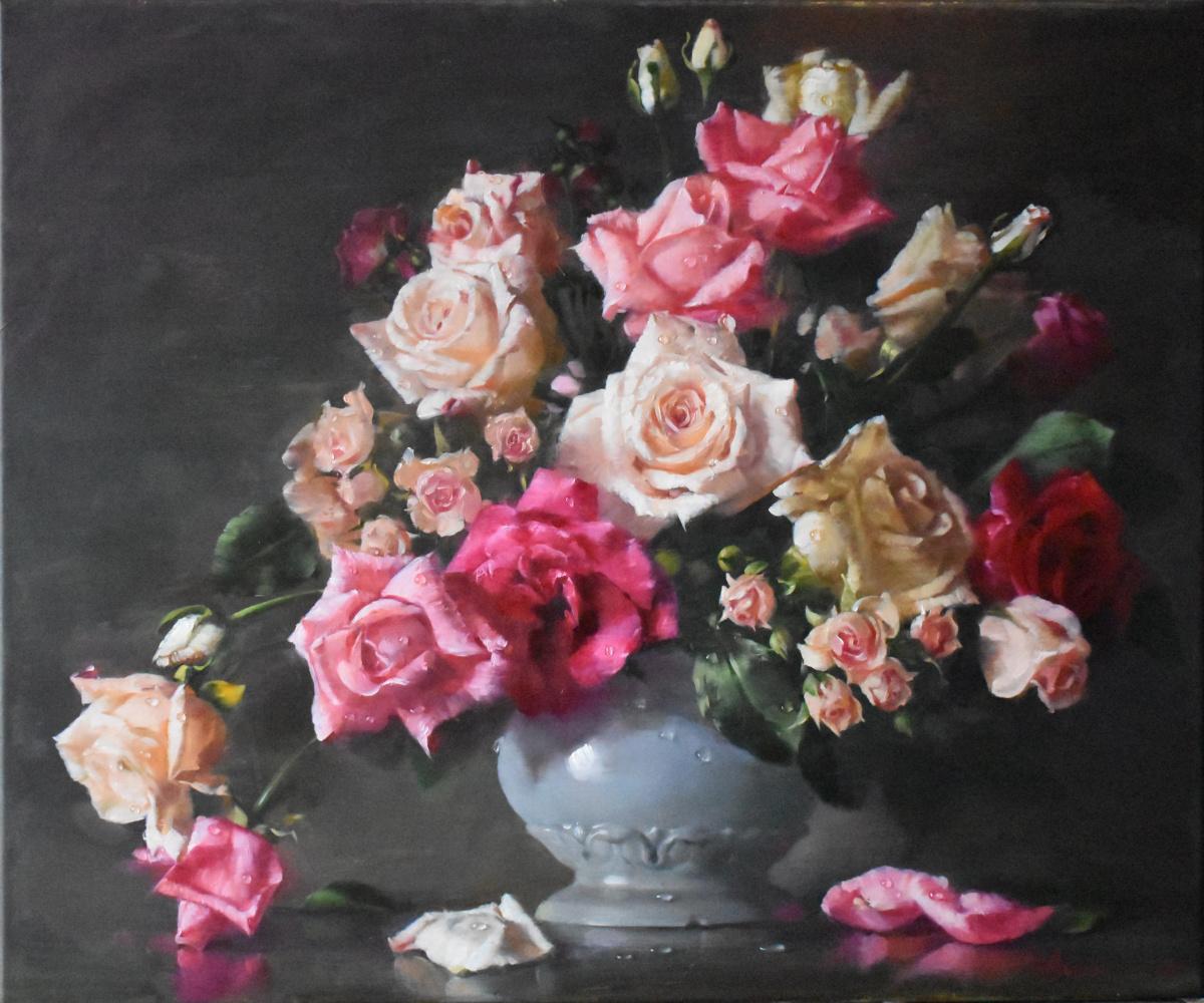 Andrey Bashirov. Roses