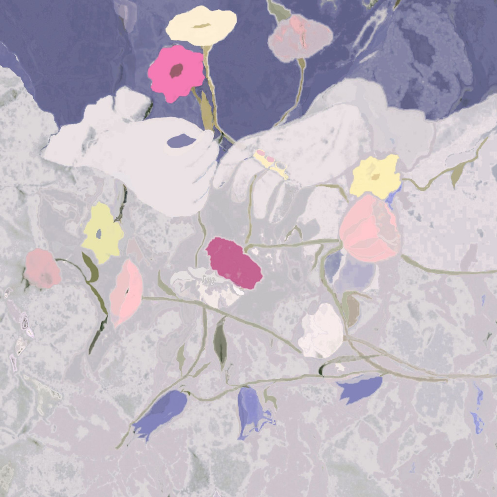 Svetlana Sisina. Spilled bouquet ...