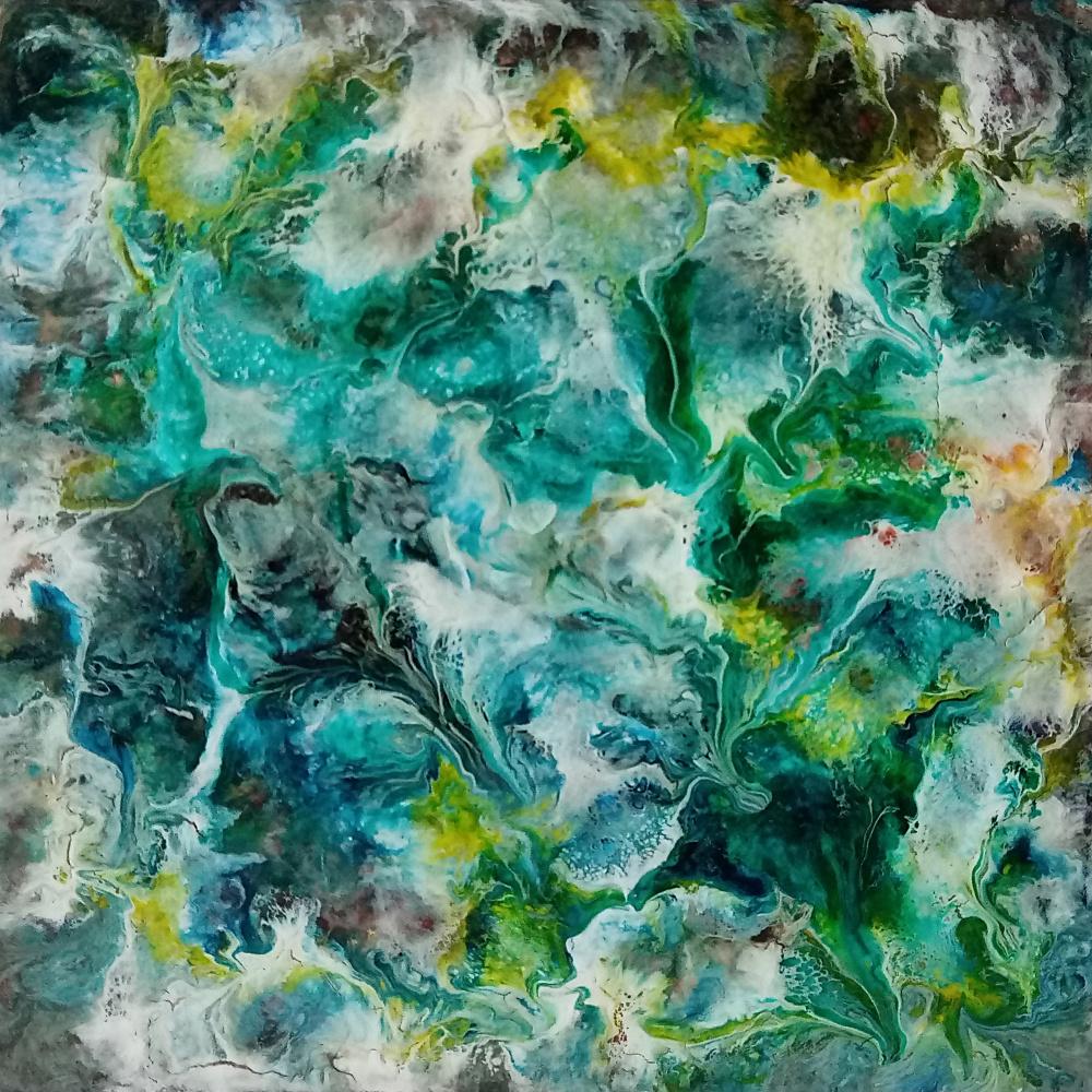 Vasiliy Mishchenko. Abstract 0145 Acrylic