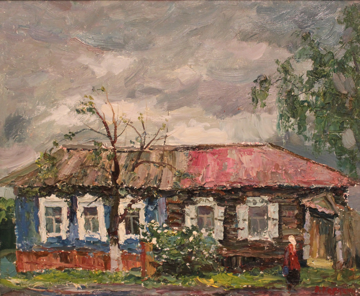 Victor Tikhonovich Karjakin. Old house