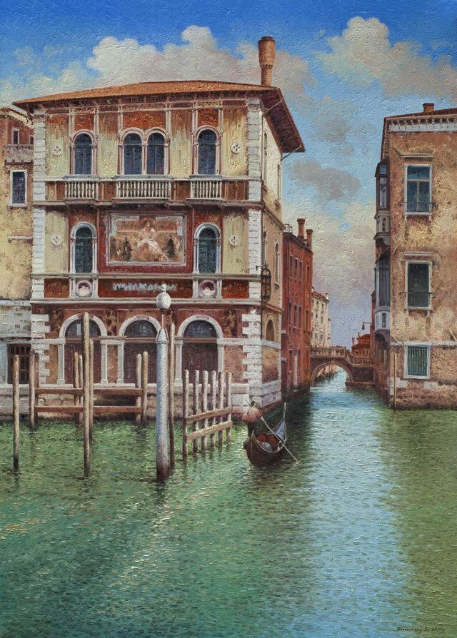 Vasily Ivanovich Gribennikov. Channel. Venice