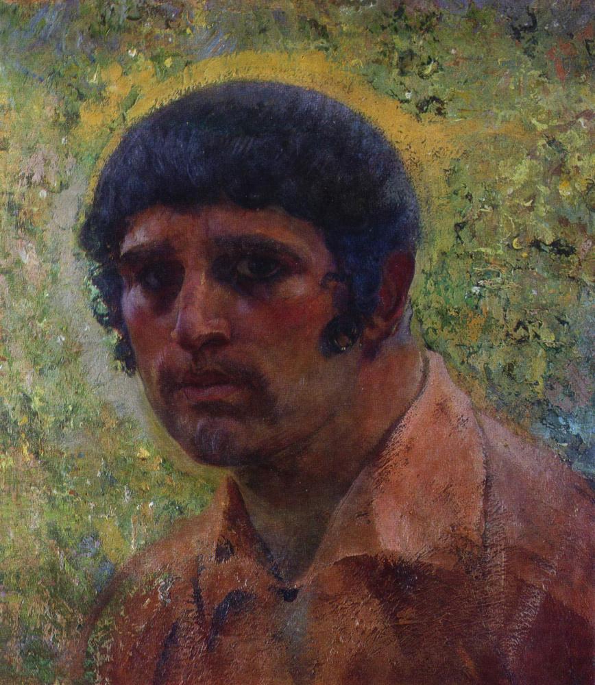 Иван Григорьевич Мясоедов. Автопортрет