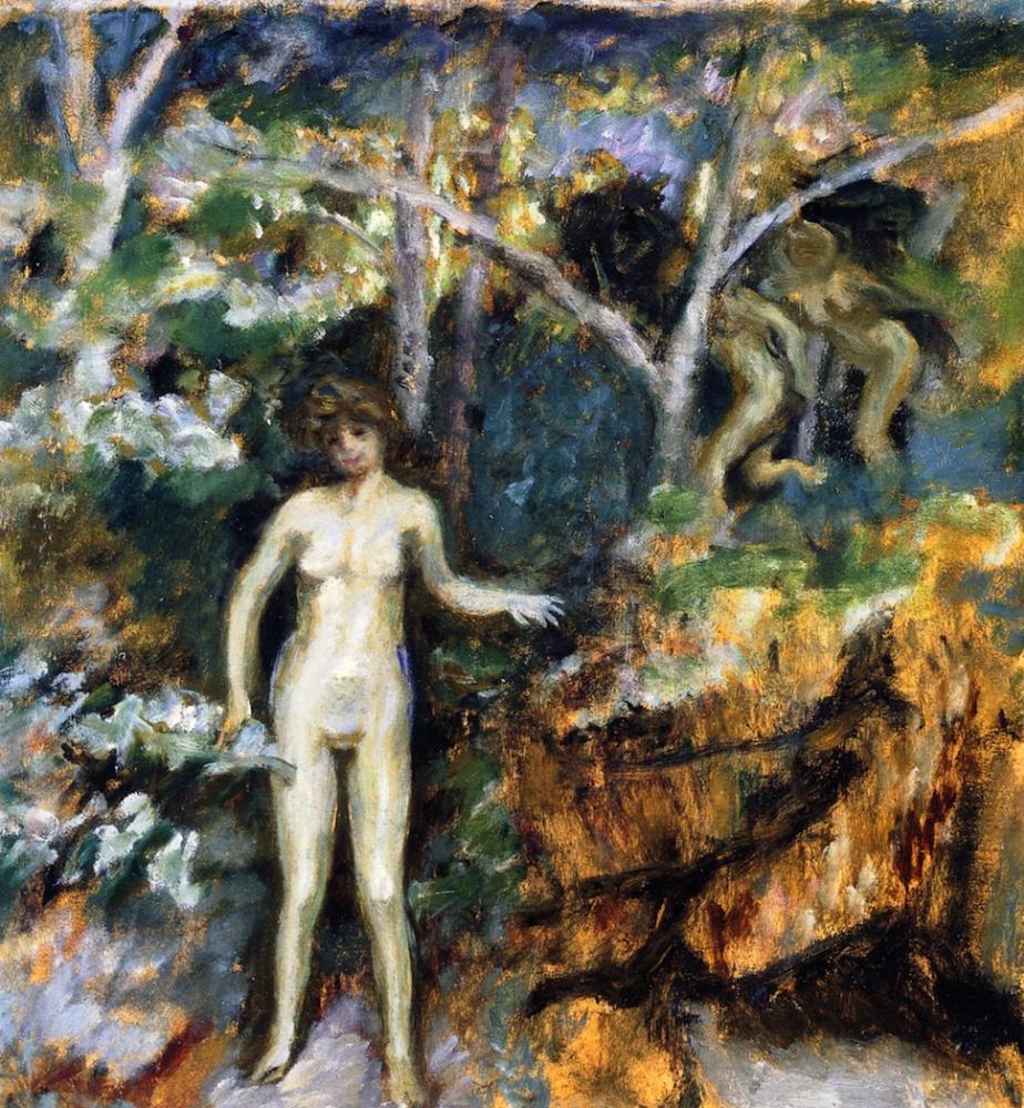 Pierre Bonnard. Daphnis and Chloe
