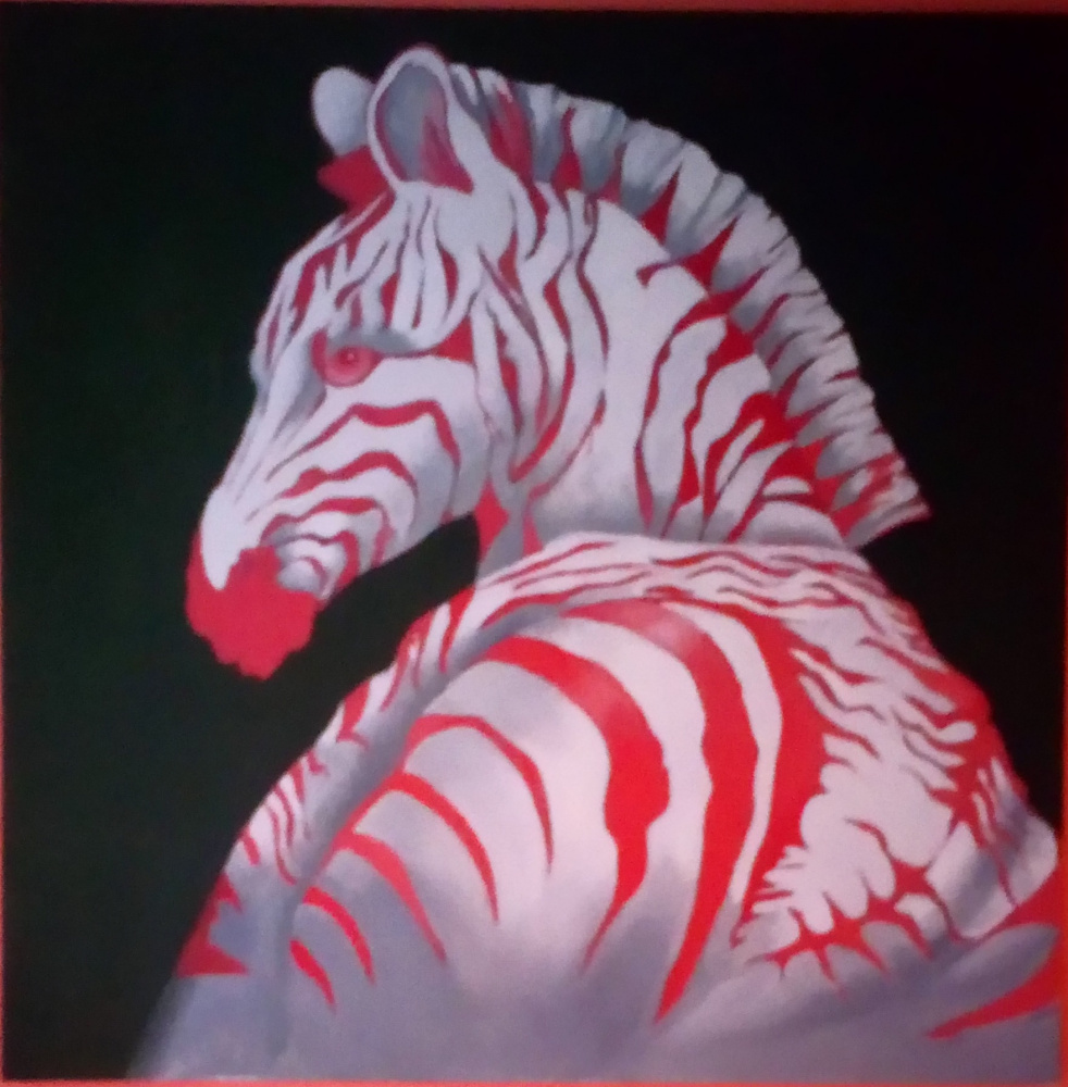 Julia Alekseevna Ovcharenko. Zebra