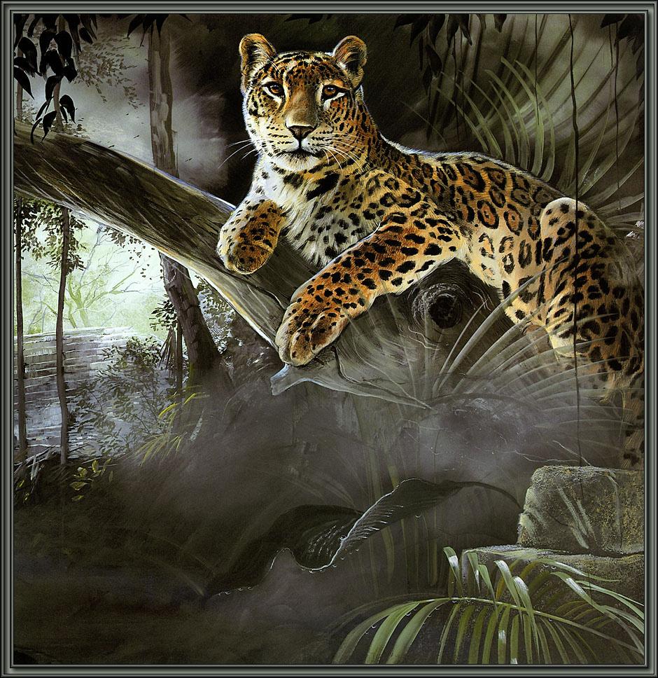 Поллианна Пикеринг. Большие кошки 01