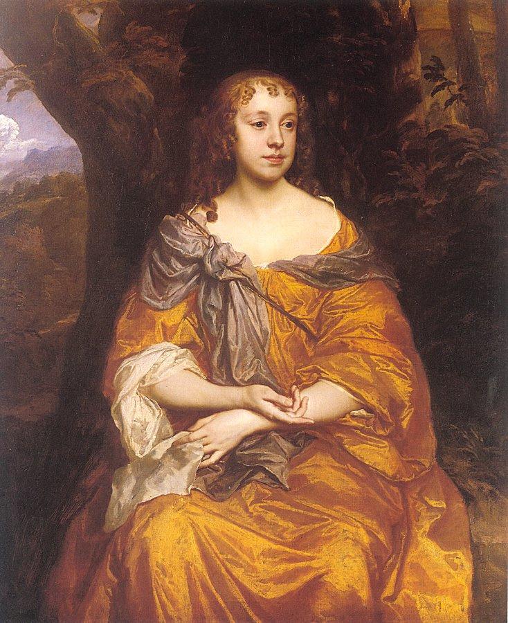 Sir Peter Lely. Miss Wharton