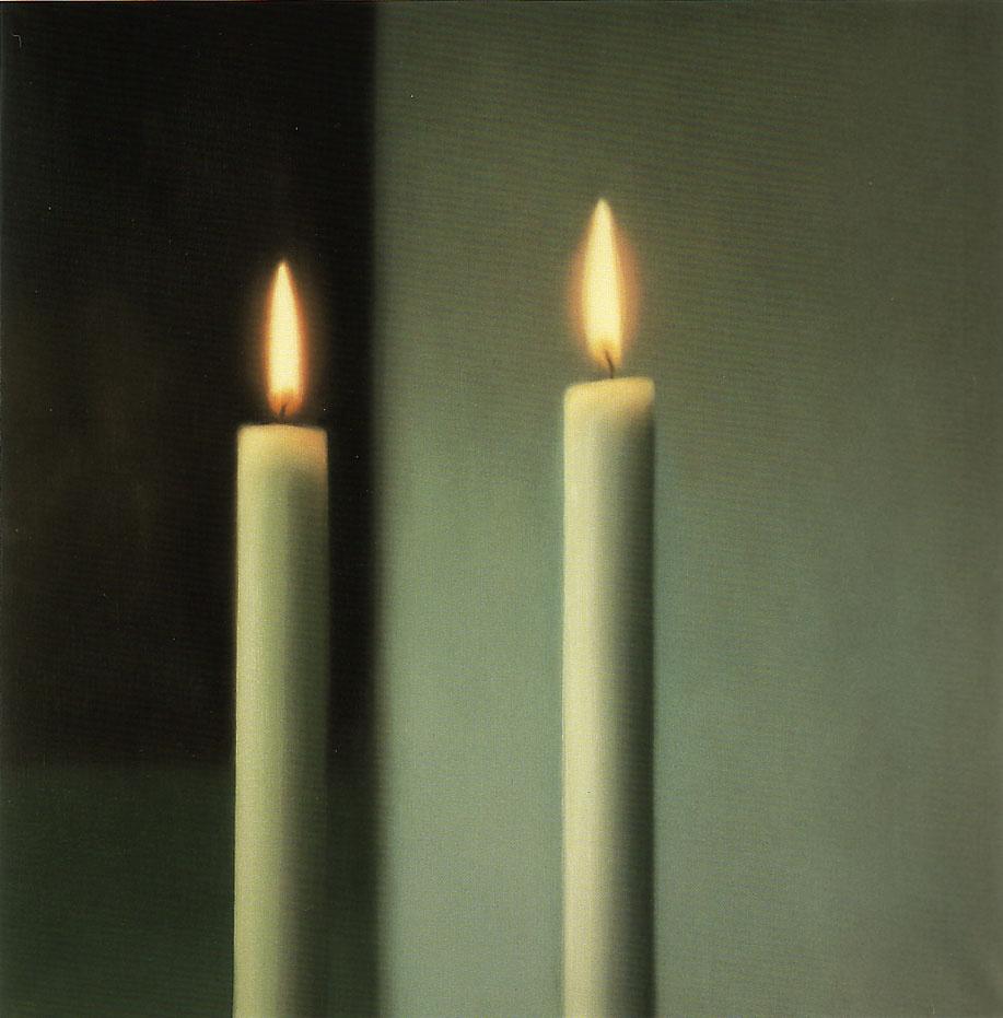 Gerhard Richter. Candles