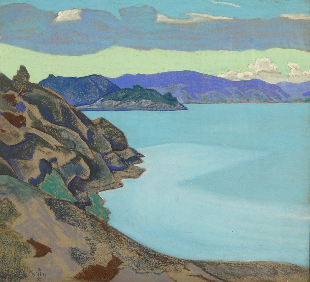 Nicholas Roerich. Lake Humala