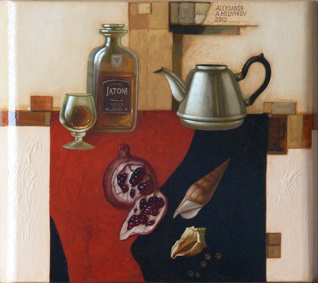 Alexander Melnikov. Still life. 2012