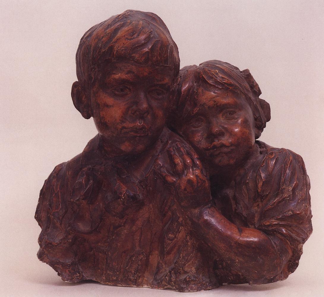 Boris Kustodiev. Children