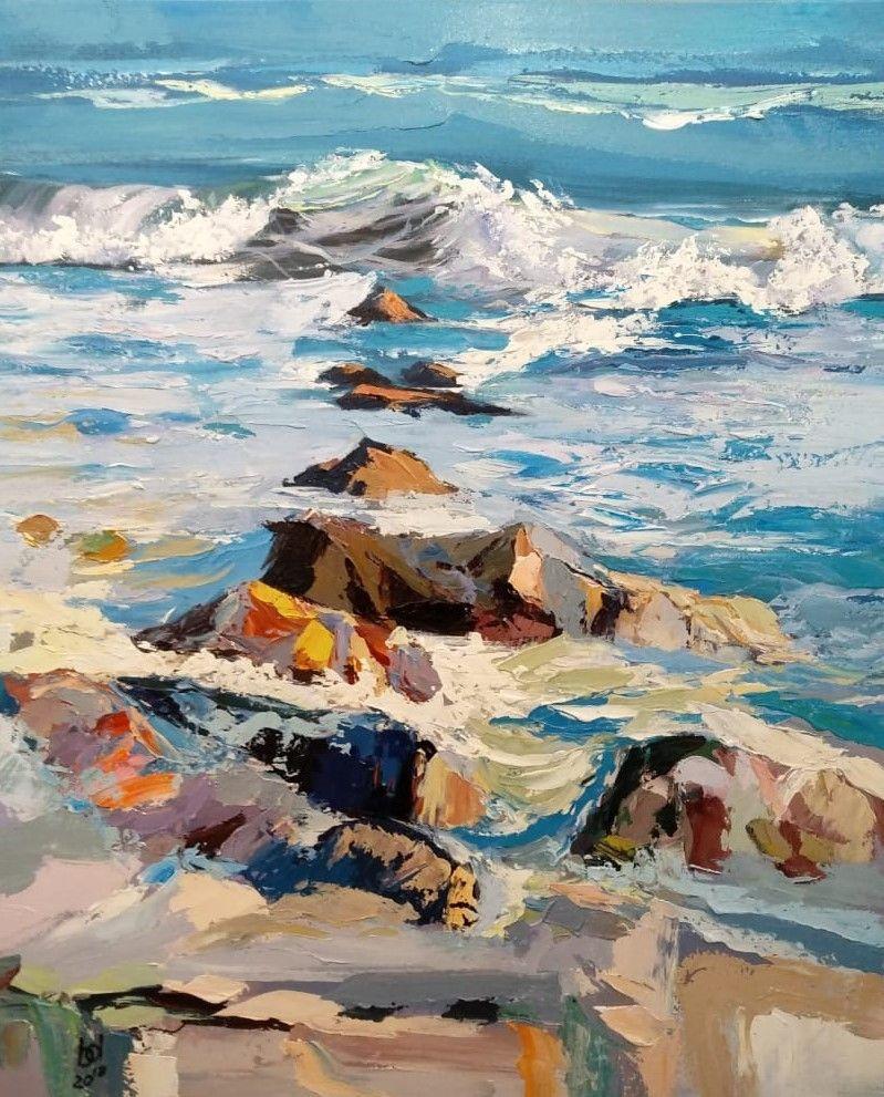 Brian dupre. In the blue sea, in the foamy sea ... N3