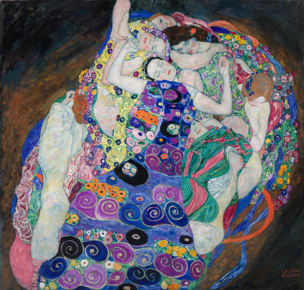 Gustav Klimt. The Virgins
